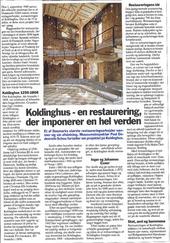 Thumb koldinghus en restaurering der imponerer verden